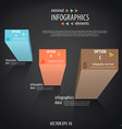 Infographics minimal 4 vector image