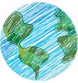 global sketch vector image
