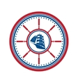 Boat symbol isolated vector image