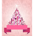 Christmas Tree Cutlery vector image vector image