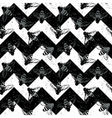 Grunge chevron seamless pattern Vintage design vector image