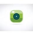Photo app icon Similar to instagram vector image vector image