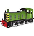 Train locomotive vector image vector image