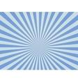 Sunburst ray retro background vector image