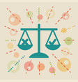 ethics concept vector image