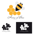 Honey of Bee vector image
