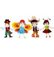 children set vector image vector image