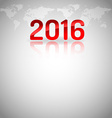New Year Empty Layout vector image vector image