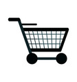 shopping cart icon image vector image