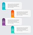 Infographic Templates for Business Infographics vector image
