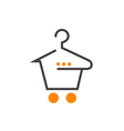 Fashion Shopping Cart vector image