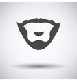 Goatee icon vector image vector image