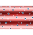 Presidents Day abstract USA flag colors background vector image