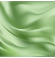 Abstract Texture Green Silk vector image vector image