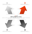 Info graphics6 vector image