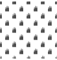 Bullets pattern simple style vector image
