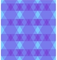 Abstract purple background with rhombus vector image