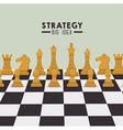Strategic planning design vector image