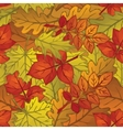 Autumn Leaves Low Poly vector image