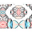 hand drawn abstract drawing fashion vector image