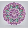 round ornamental ethnic ornament vector image