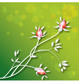 flowers-background vector image vector image