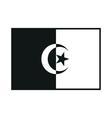 Algeria flag isolated vector image