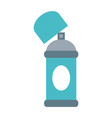 aerosol can blank label icon image vector image