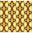 seventies circular wall vector image