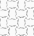 Dotted doubled rectangles vector image