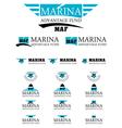 Marina advantage fund energy logo vector image