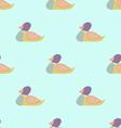 Wild Duck Seamless Pattern vector image