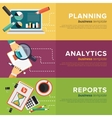 Business Process Management vector image