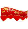 Decoration for Valentines Day vector image