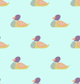 Wild Duck Seamless Pattern vector image