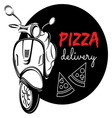 pizza delivery3 resize vector image