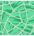 Malachite Cobblestone seamless background vector image