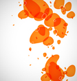 Colored droplets vector image