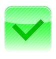 button ok vector image vector image