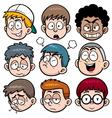 Boy Face vector image