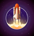 Space Shuttle Launch vector image vector image