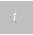 Telephone computer symbol vector image