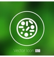 icon Biochemistry microbiology vector image