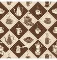 Caffe pattern vector image