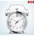 Traditional alarm clock vector image