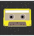 pixel art cassette vector image
