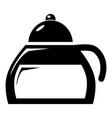 honey tea icon simple style vector image
