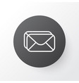 inbox icon symbol premium quality isolated vector image