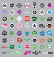 collection of logos of the highest quality vector image vector image