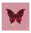 amazing butterfly vector image